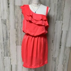 💗 City Triangles Coral Summer Party Dress Large